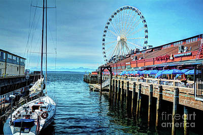Photograph - The Wharf by Deborah Klubertanz