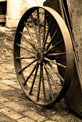 Photograph - The Wheel by Brian Roscorla