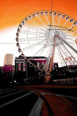 Photograph - The Wheel  by D Justin Johns