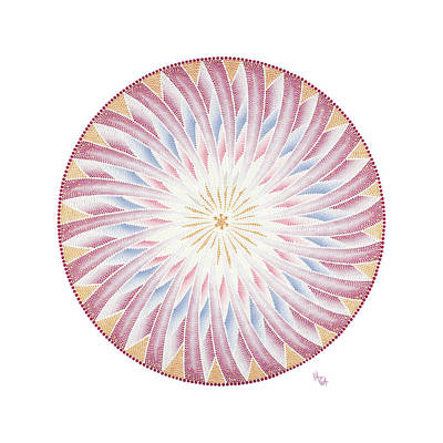 Wall Art - Painting - The Wheel Of Life by Vanda Omejc