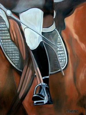 The Whip Art Print by Donna Thomas