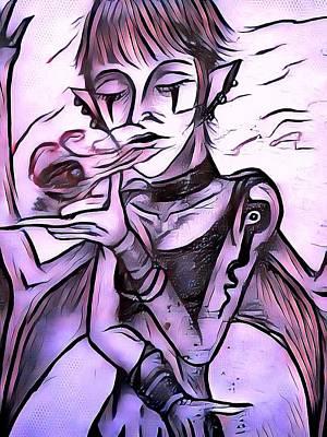 The Whisper Of Pain Art Print