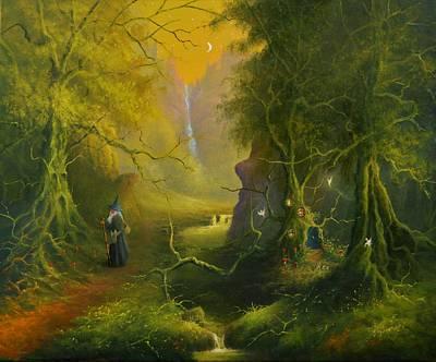 Painting - The Whispering Wood by Joe Gilronan
