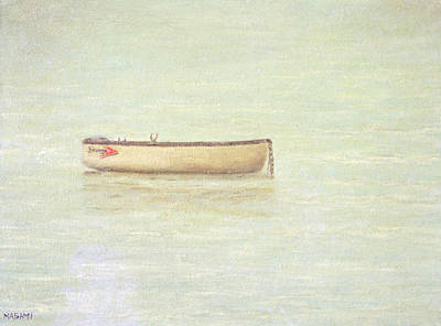 Painting - The White Boat by Masami Iida