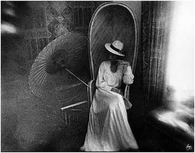 Photograph - The White Dress by Wayne King