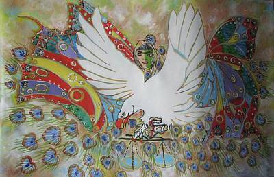 The White Eagle Art Print