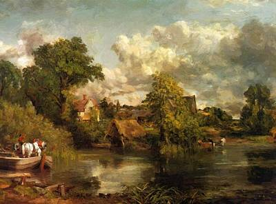 Painting - The White Horse 1819 by Constable John