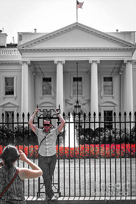 The White House #2 Art Print