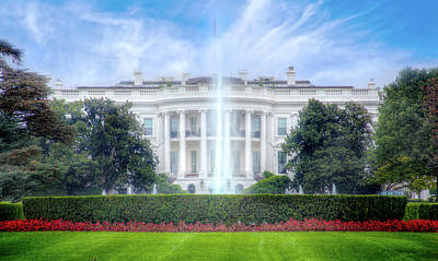 Photograph - The White House by Mark Andrew Thomas