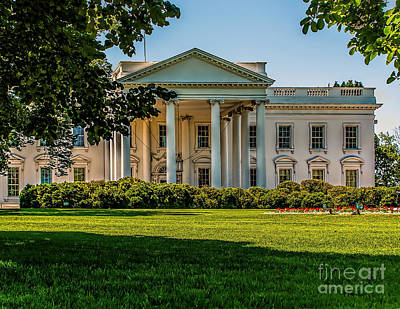 Photograph - The White House by Nick Zelinsky