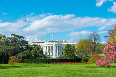 Photograph - The White House by SR Green