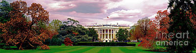 Photograph - The White House Spring Time  by Tom Jelen