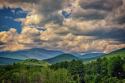 Photograph - The White Mountains by Rick Berk