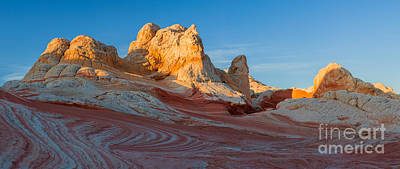 Pocket Stones Photograph - The White Pocket, Part Of The Vermillion Cliffs National Monumen by Henk Meijer Photography