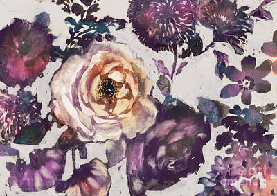 Priska Wettstein Pink Hues Royalty Free Images - The white rose Royalty-Free Image by Marietta Cohen