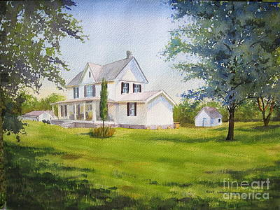 Painting - The Whitehouse by Shirley Braithwaite Hunt