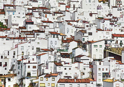 the whiter side of Casares Art Print