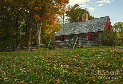 Photograph - The Wick House by Debra Fedchin