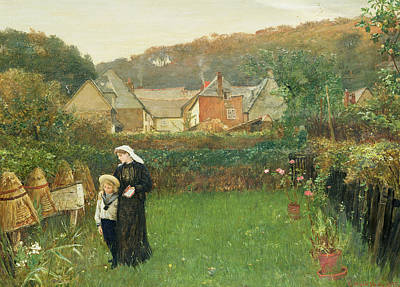 Honey Painting - The Widow by Charles Napier Hemy