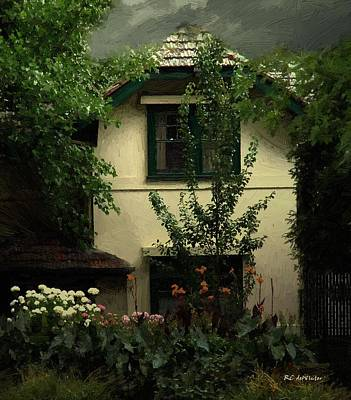 Painting - The Widow's Cottage by RC DeWinter