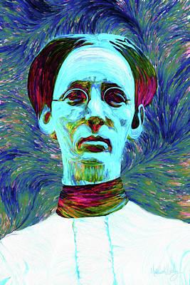 Digital Art - The Wife by Matt Lindley