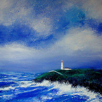 Painting - The Wild Atlantic Way  by K McCoy