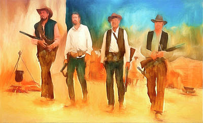 The Wild Bunch Art Print