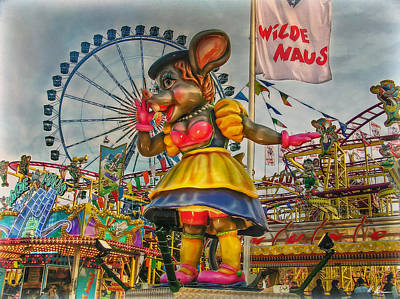 Photograph - The Wild Mouse by Hanny Heim