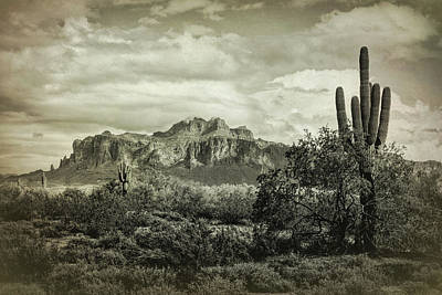 Photograph - The Wild West Of The Superstitions  by Saija Lehtonen