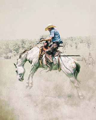 Photograph - The Wild Wild West by Ron McGinnis