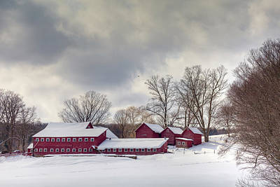 Art Print featuring the photograph The Williams Farm by Susan Cole Kelly