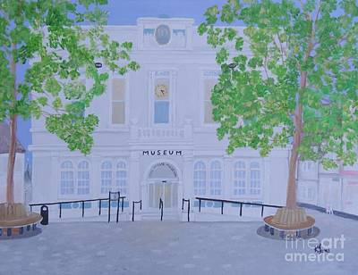 Painting - The Willis Museum Basingstoke by Karen Jane Jones