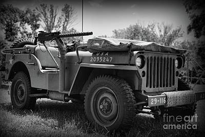 Photograph - The Willys Jeep by Paul Ward