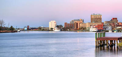 Photograph - The Wilmington Skyline by JC Findley