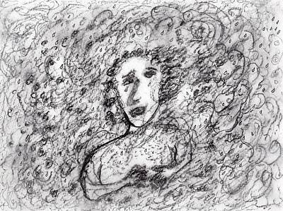 Drawing - The Wind Cries by Jim Taylor