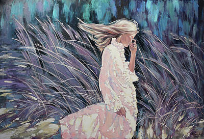 Painting - The Wind Smells Of Herbs by Anastasija Kraineva
