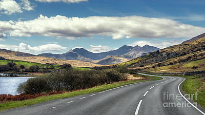 Bank Clouds Hills Photograph - The Winding Road by Adrian Evans