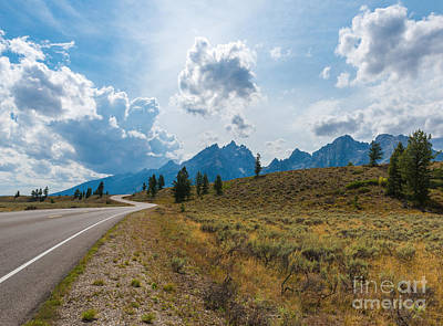 Photograph - The Winding Road by Sharon Seaward