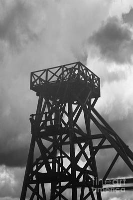 Photograph - The Winding Tower Geevor Tin Mine by Terri Waters