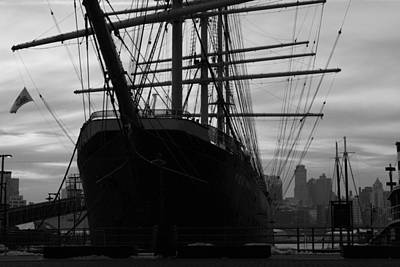 Photograph - The Windjammer Peking  by Christopher Kirby