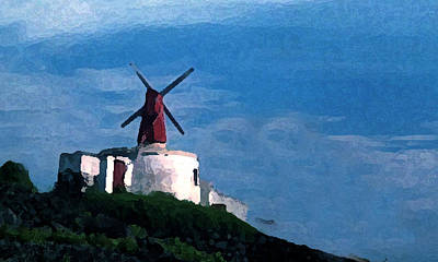 The Windmill Art Print by Cabral Stock
