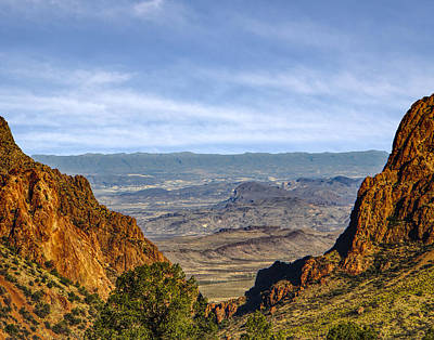 Photograph - The Window At Big Bend Np by Michael Ziegler