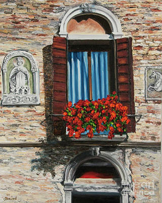 Painting - The Window by Charlotte Blanchard