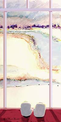 Painting - The Window by Deborah Burow
