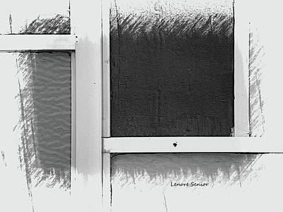 Photograph - The Window Frame by Lenore Senior