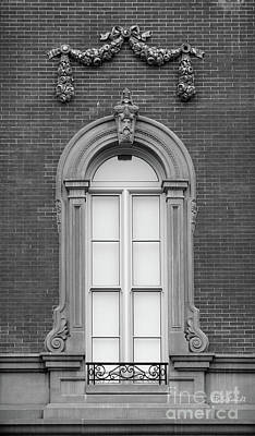 Photograph - The Window In Black And White by E B Schmidt