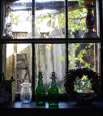 Art Print featuring the photograph The Window by Mark Alan Perry