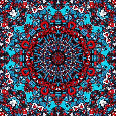 Rhythm And Blues Digital Art - The Window Of Hope by Sir Josef - Social Critic -  Maha Art