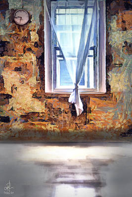 Mixed Media - The Window by Pennie McCracken