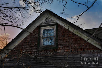 Michigan Farmhouse Photograph - The Window by Russie Marshall